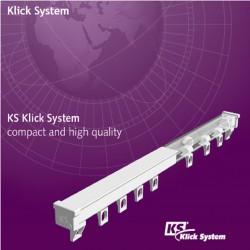 Szyna aluminiowa KS pojedyncza